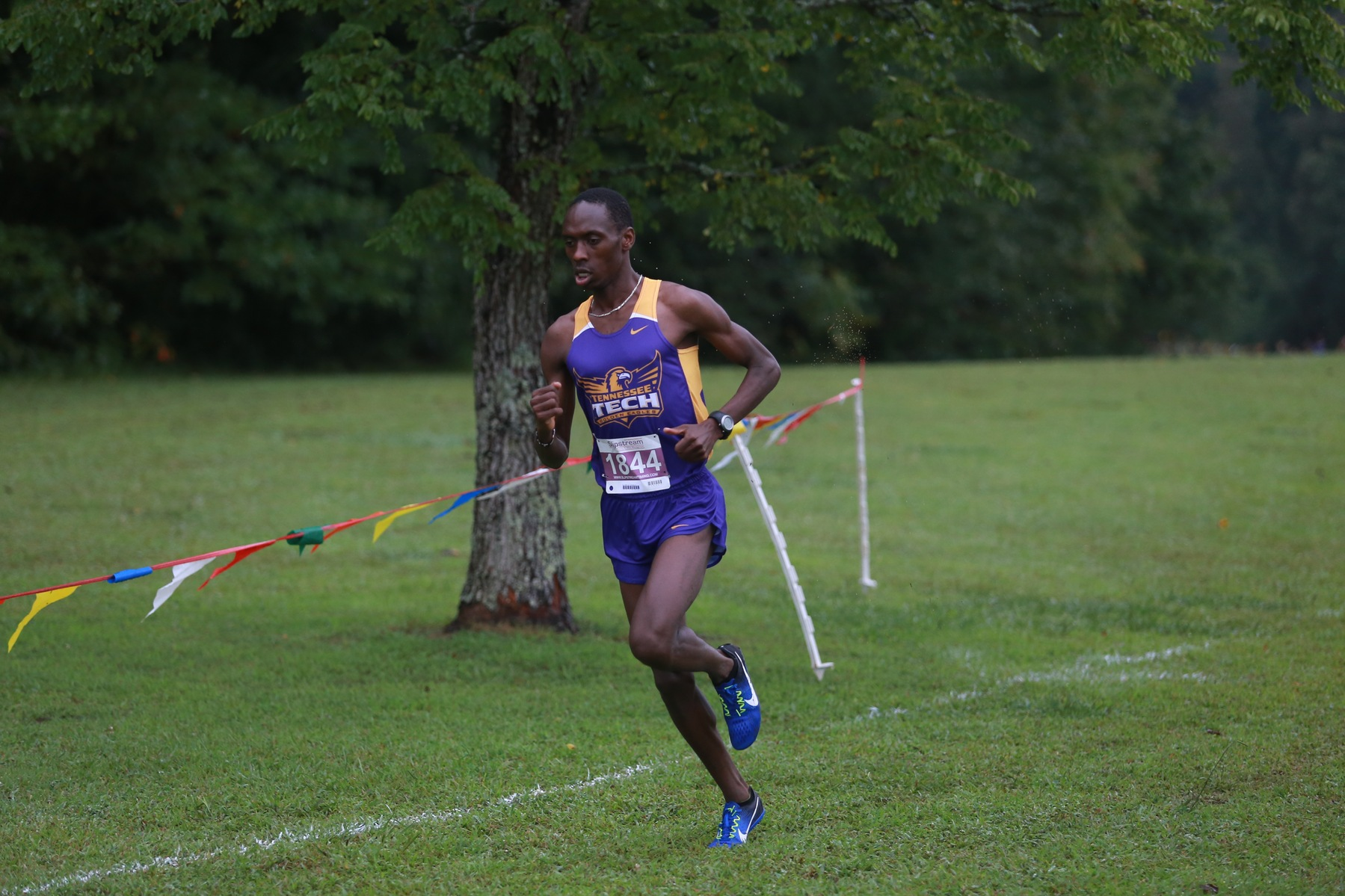 Men's cross country places 31st, Boit in top 20 with new school record at Pre-Nationals