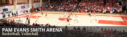 Pam Evans Smith Arena (Basketball, Volleyball)