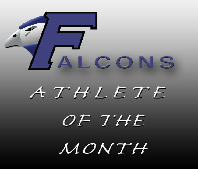 Male and Female Athletes of the Month
