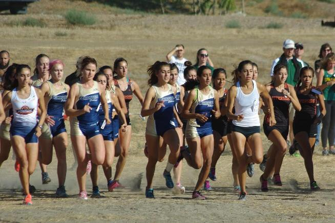 Cerritos women finished 7th at the Lancer Invitational