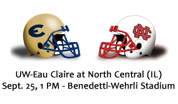 Football Preview: #17 Eau Claire vs. #11 North Central College (Ill.)