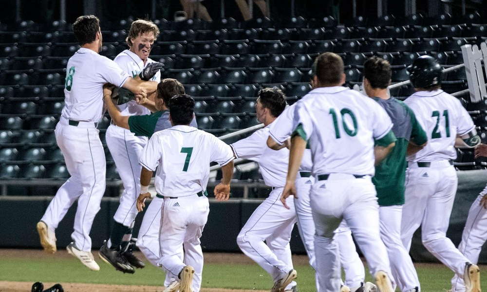 BASEBALL FORCES WINNER-TAKE-ALL GAME WITH DRAMATIC, 4-3 WALK-OFF WIN OVER NEW MEXICO STATE