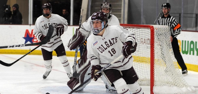 Colgate skates to a tie against St. Lawrence