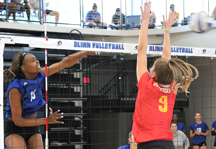 Blinn Volleyball Surges To No. 3 In National Ranking