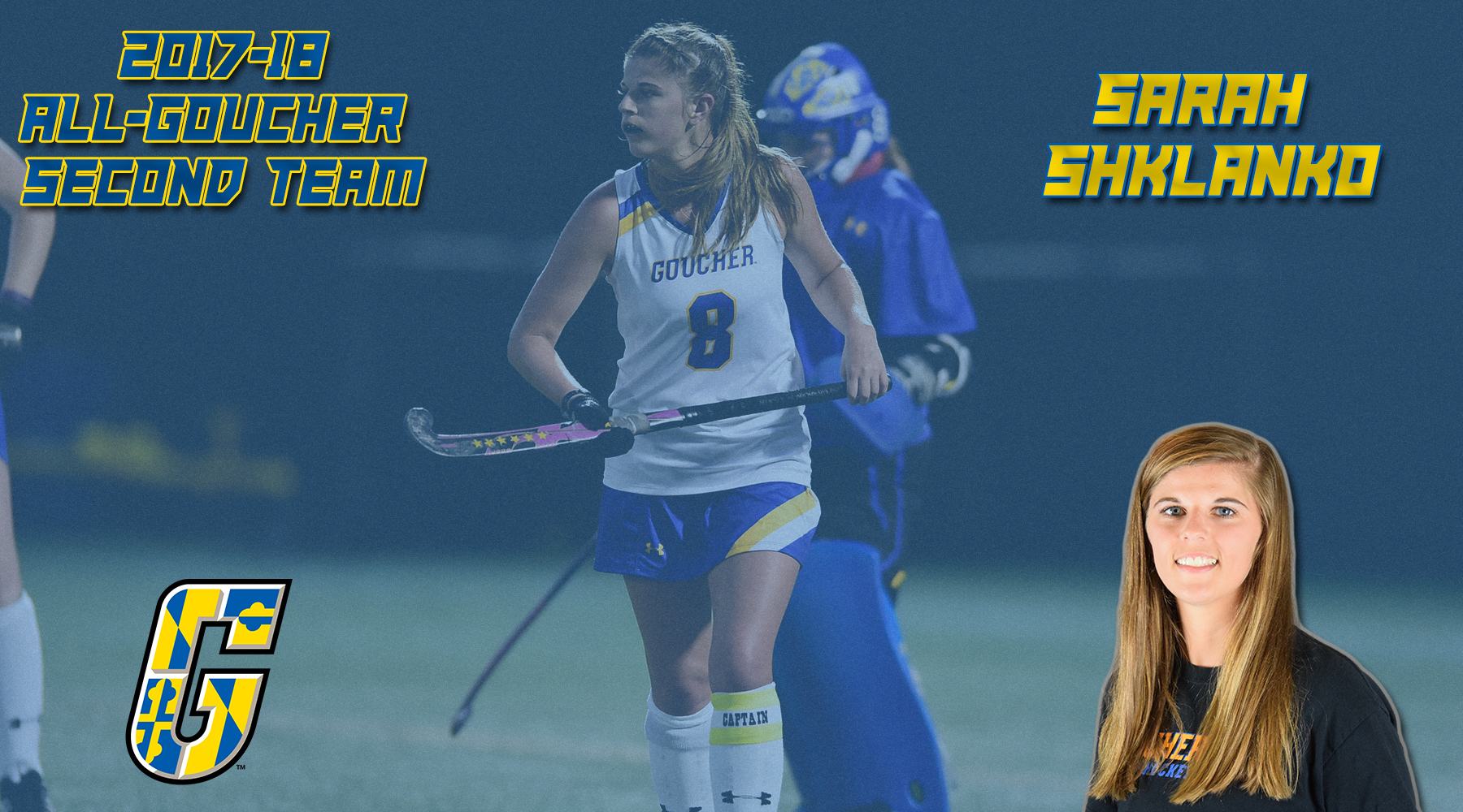 All-Goucher Second Team Selection: Field Hockey's Sarah Shklanko