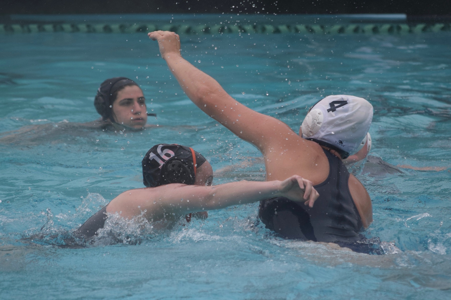 Women's Polo Gets Three Goals at Cal Lutheran