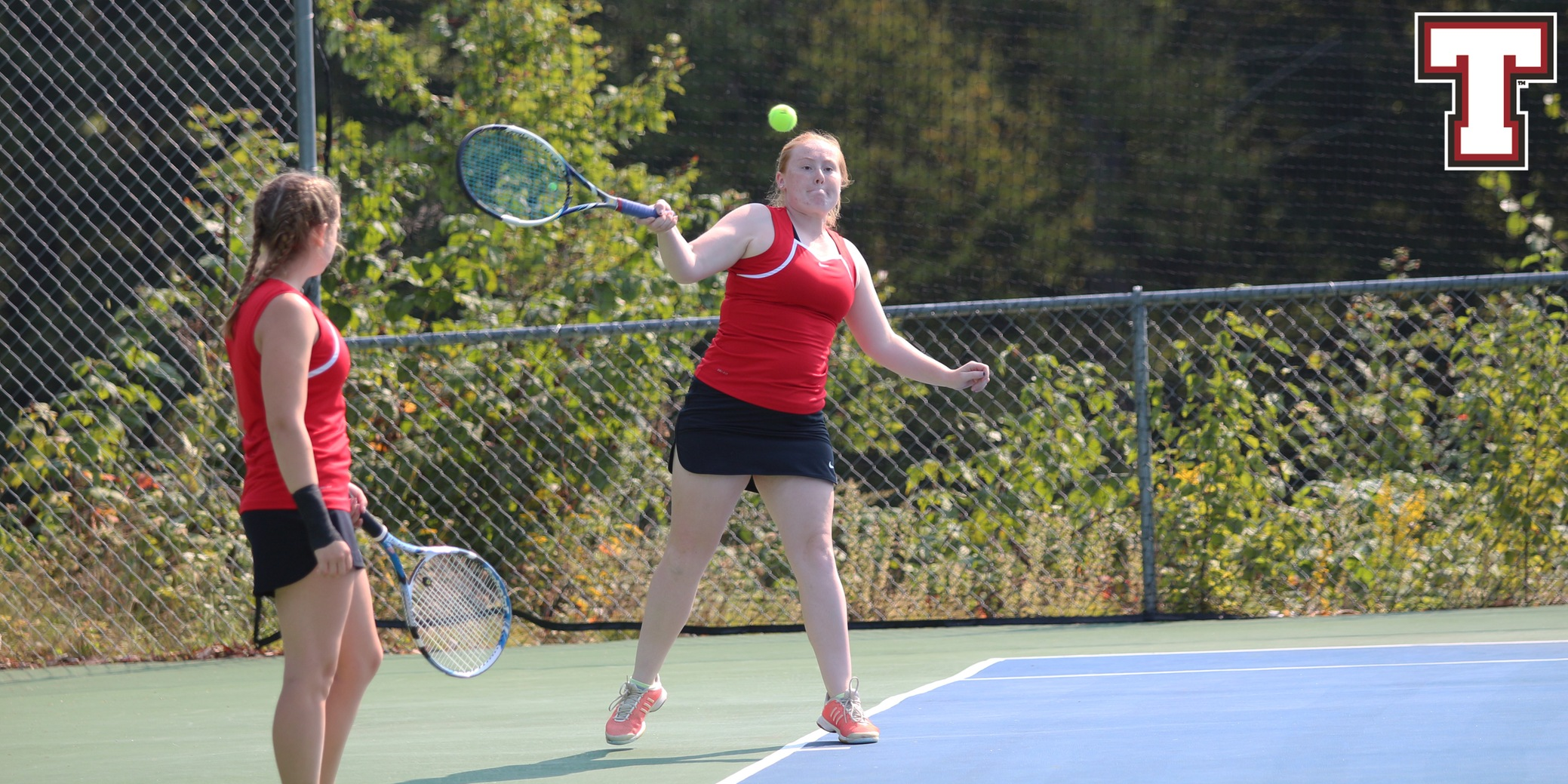 Women's Tennis Swept by Undefeated Colby-Sawyer