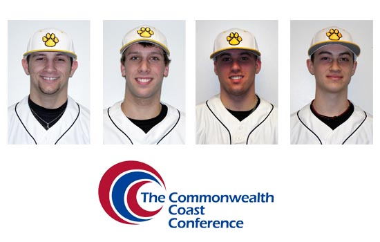 Ryan Delgado, Ben Danker, Conner Flisnik, and Jon Spitz Each Earned All-TCCC Honors