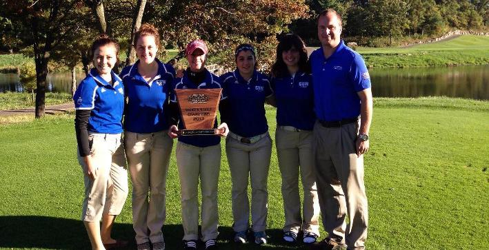 Women's Golf wins NACC Championship, Puch named Player of the Year
