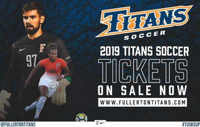 2019 Men's and Women's Soccer Tickets on Sale Now