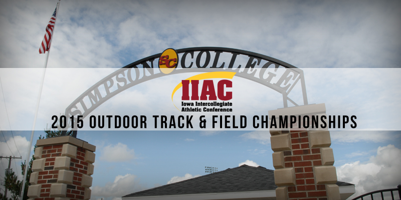 Simpson set to host IIAC Outdoor Track & Field Championships