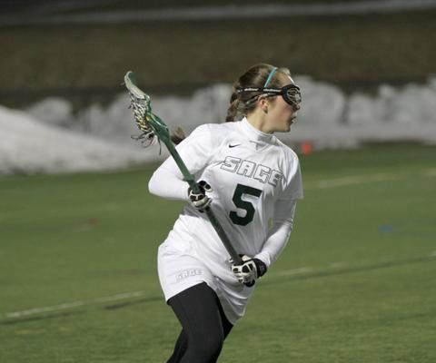 Carr's four goals not enough as Sage falls at Ramapo