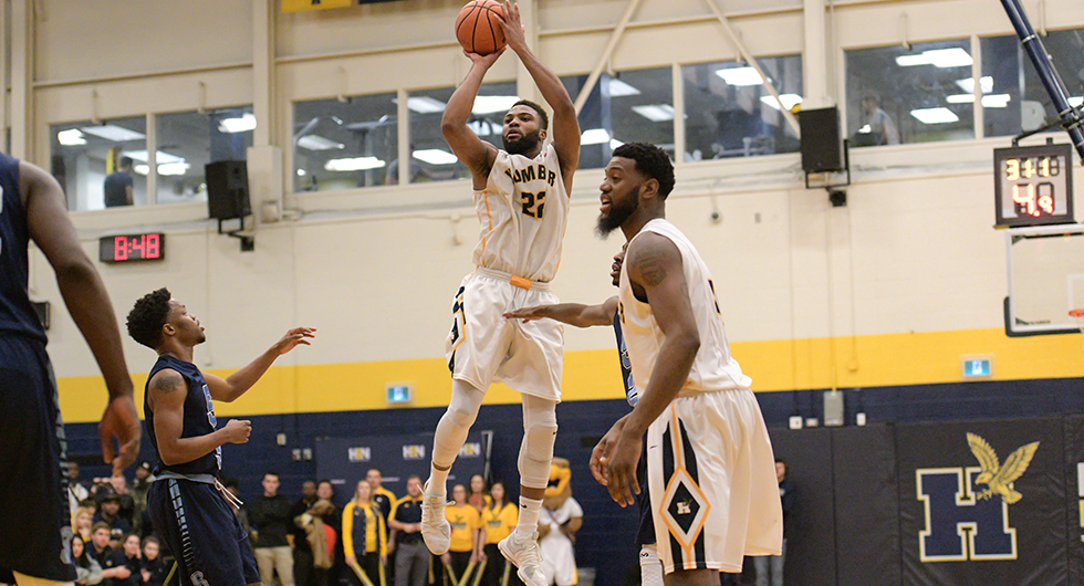 EJIM JOINS 500-POINT CLUB IN WIN OVER MOHAWK