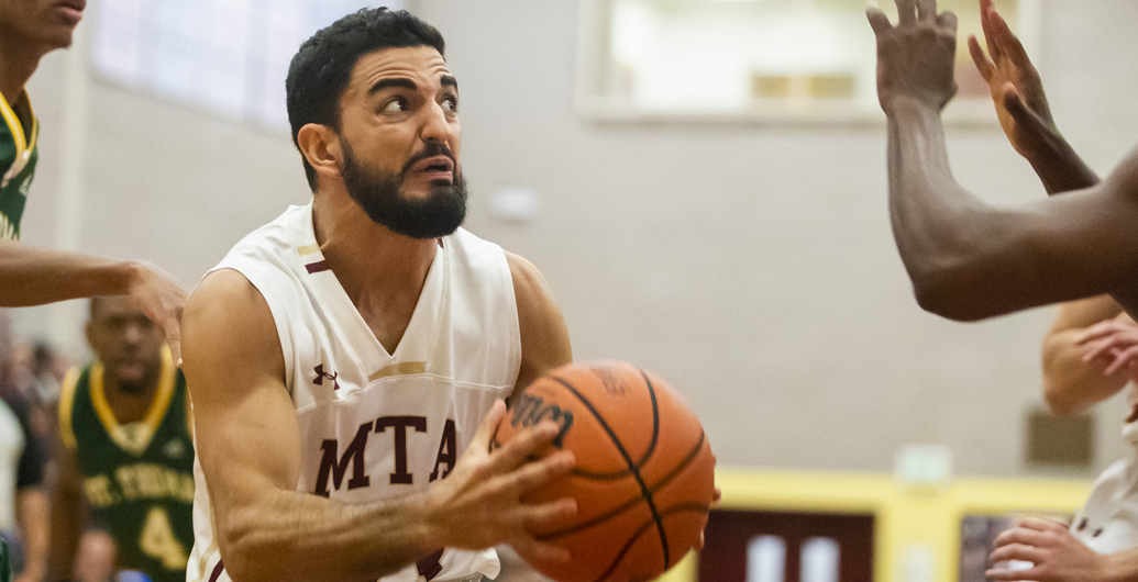Mounties earn another split in league action