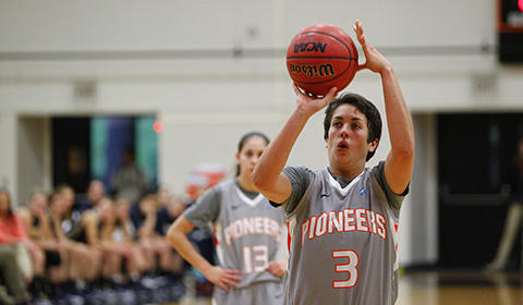 Williams Scores 32 in Women's Basketball's 82-54 Win Over Corban