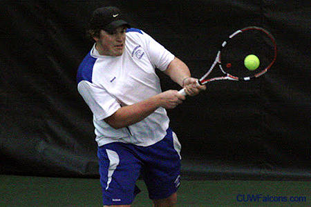 St. Scholastica edges Men's Tennis