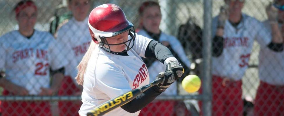 Softball Season Ends with Two Losses in AMCC Tournament
