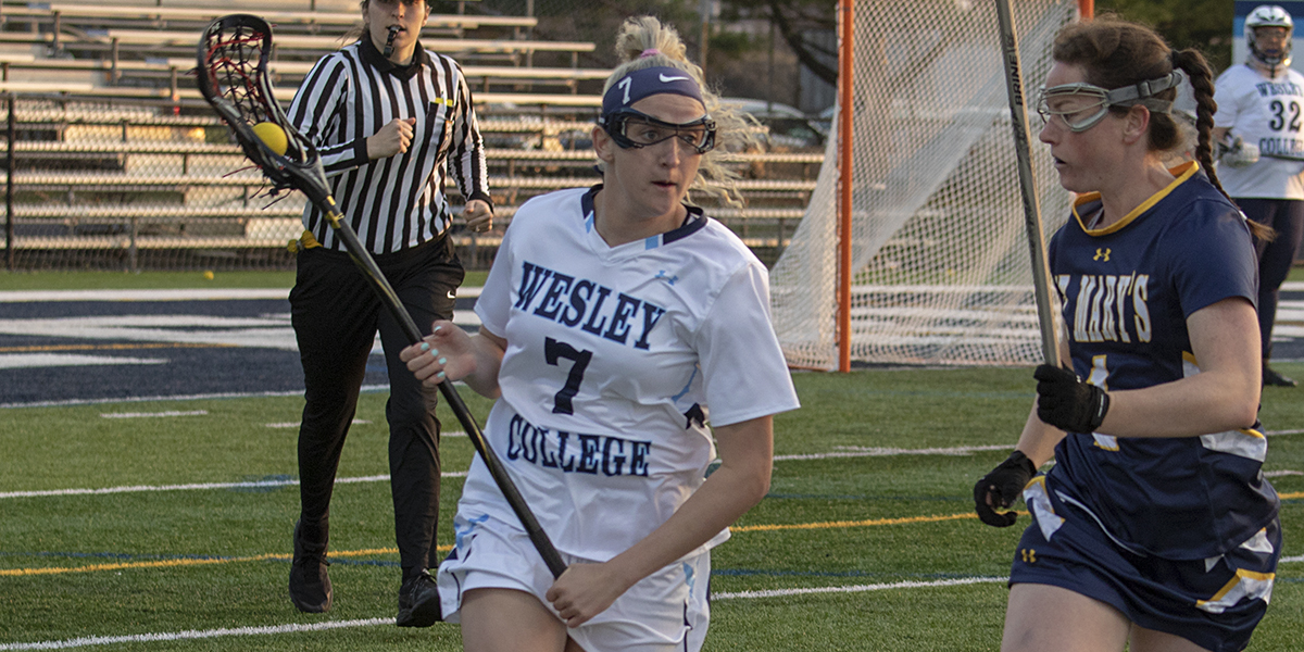 Brehm paces women's lacrosse against St. Mary's