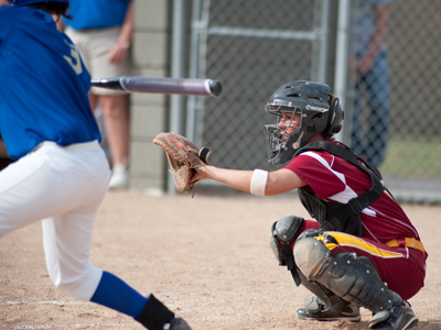 Senior catcher Rachel Mueller and Ferris State will be playing its home-opening series at Rockford High School this weekend.