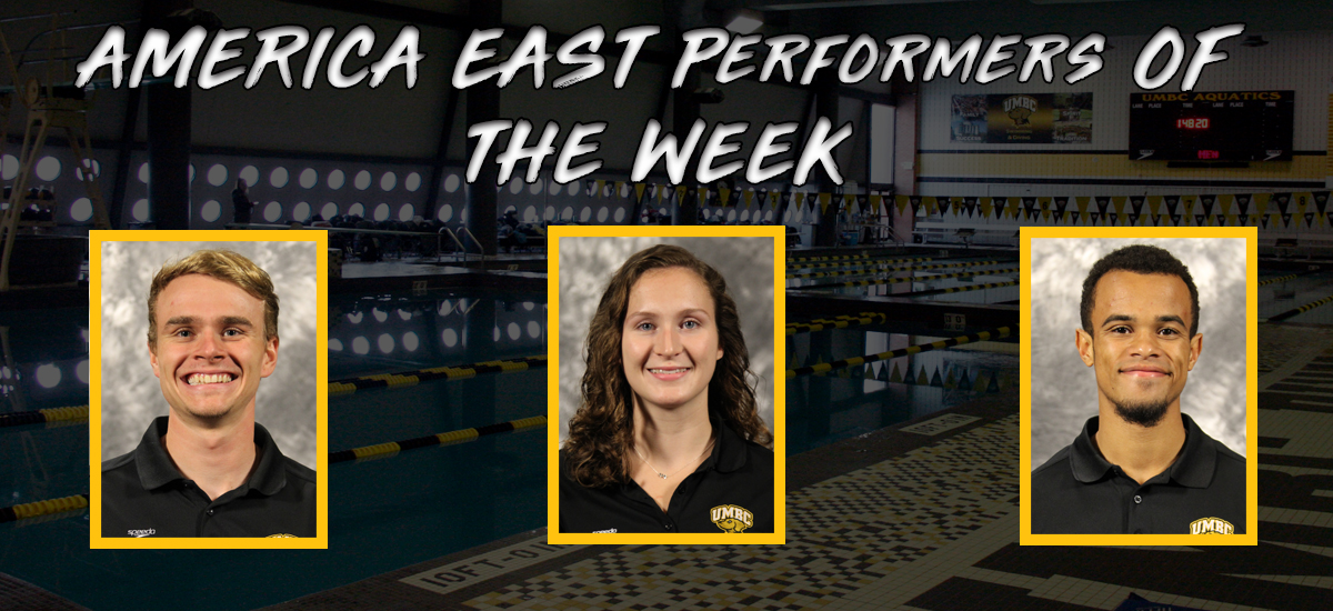 Three Swimming and Diving Athletes Earned #AESD Weekly Awards