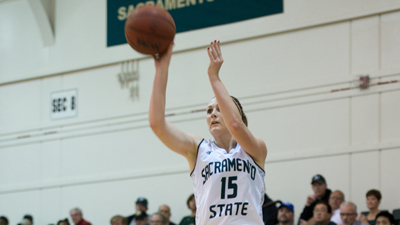WOMEN'S BASKETBALL RALLIES TO BEAT IDAHO STATE, CLINCH BIG SKY BERTH