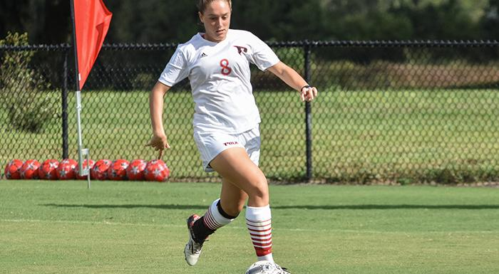 Kelsey ewes had a goal and an assist in a 3-0 victory over Gordon State. (Photo by Tom Hagerty, Polk State.)