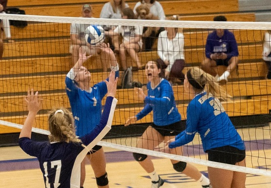 SIMMONS DOWNS WOMEN'S VOLLEYBALL IN KEY GNAC SHOWDOWN, 3-1