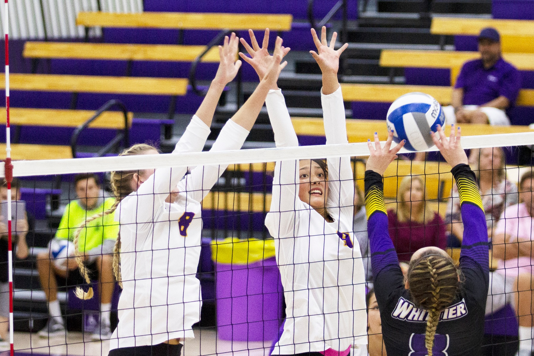 Regals Sweep Beavers; Given, Haddad Lead the Way With 8 Kills Each
