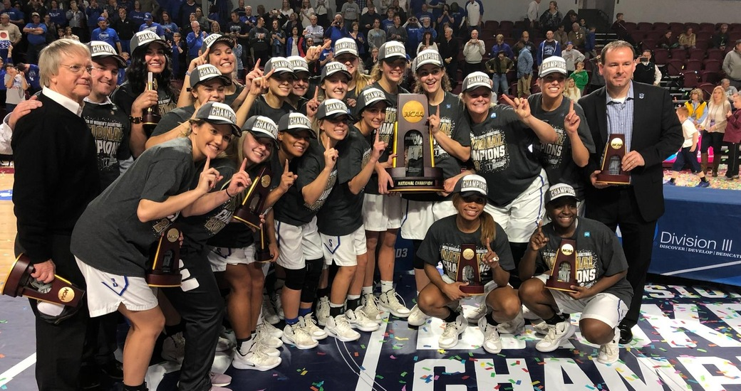 No. 1 Thomas More Defeats #3 Bowdoin, 81-67 to Win 2019 National Championship