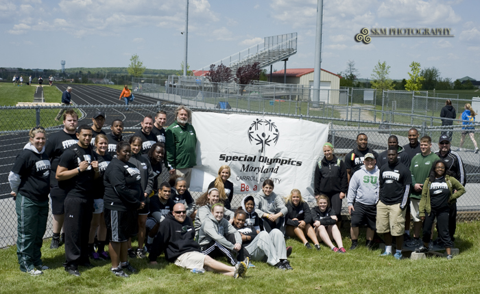 Stevenson Student-Athletes and Staff Volunteer at Carroll County Special Olympics