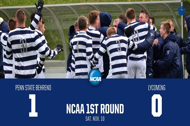 Penn State Behrend Knocks off Lycoming in NCAA First Round