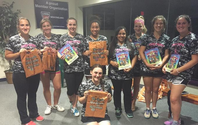AMCATS Among Us: Tennis Helps Prep Halloween Efforts in Hardwick