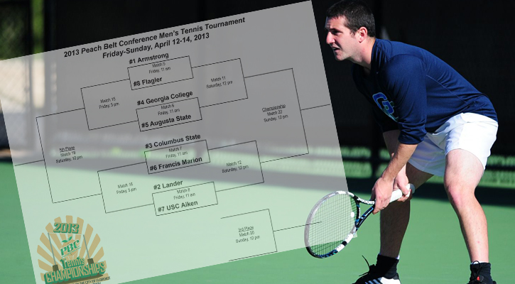 Bobcat Men's Tennis Earns #4-seed at PBC Tournament