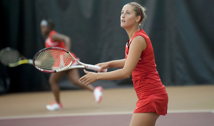 Women's Tennis Falls To Ashland In League Home Match