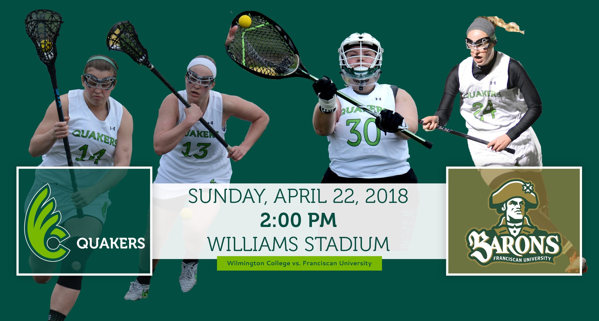 Women's Lacrosse hosts Franciscan on Sunday for Senior Day