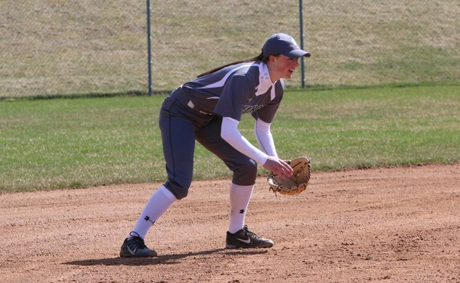 Jessie Hammers (2) collected 5 hits on the day for Keuka College