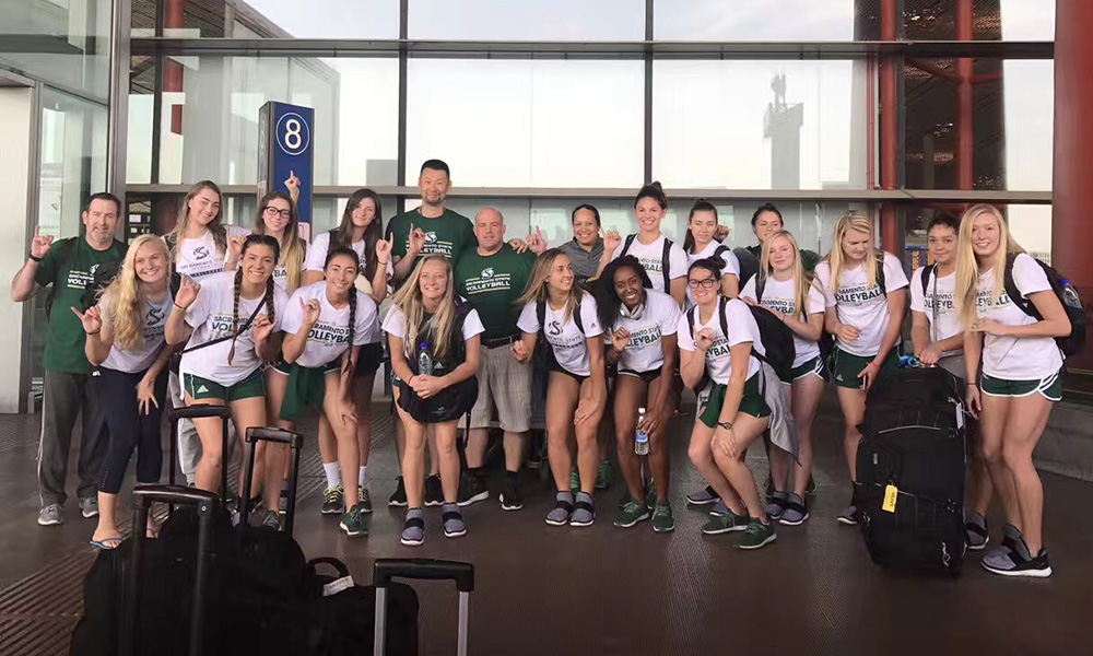 VOLLEYBALL'S FINAL DAY IN CHINA; TWO MORE BLOGS