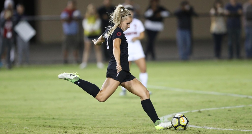 Women's Soccer Comes Up Just Short Against No. 2 Stanford