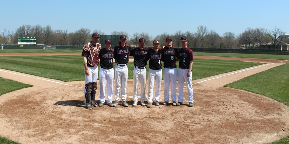 Baseball Records Season-High 14 Hits in Both Games; Not Enough in Doubleheader Loss to Nyack on Senior Day