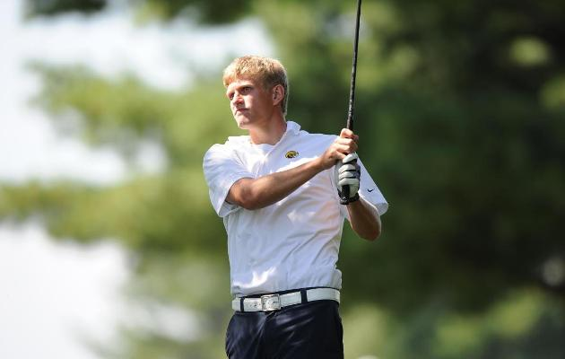 Coker Men's Golf in 16th after Day One
