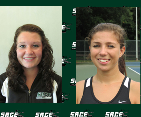 Drollette and Ackerman honored by Skyline Conference