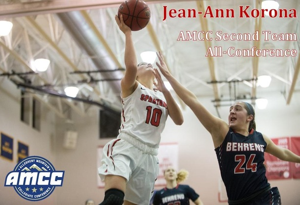 Korona Closes Out Career with AMCC Second Team All-Conference Selection