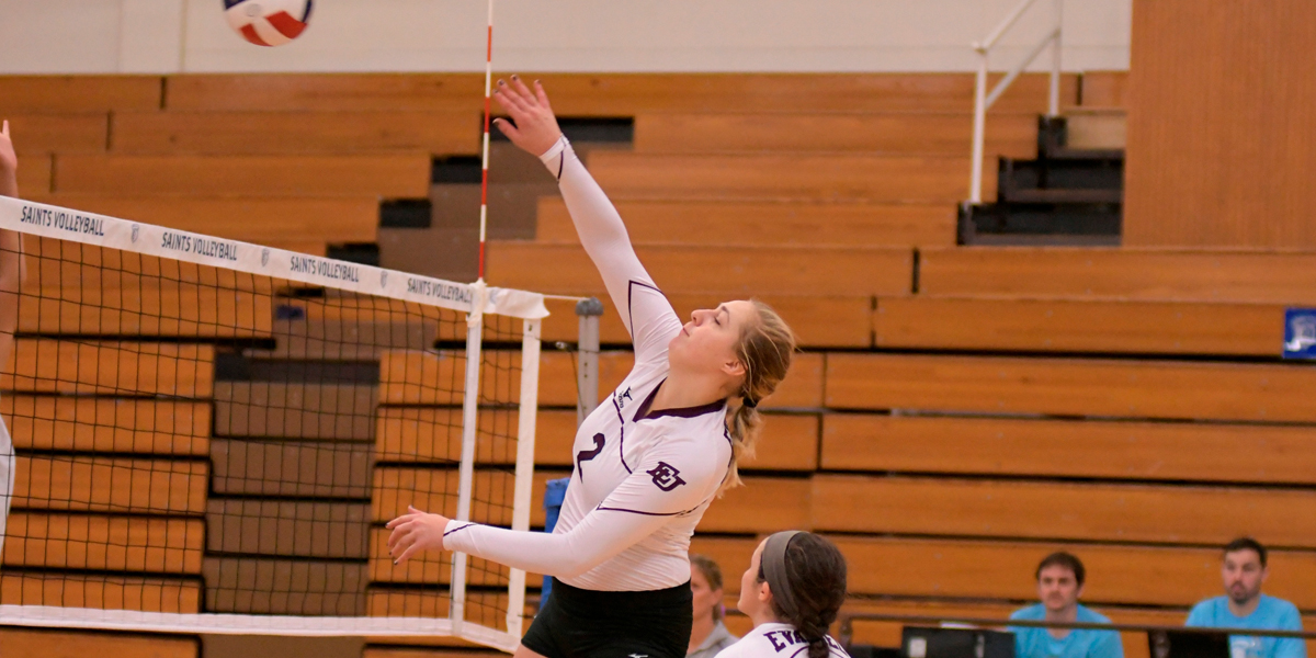 Evangel Volleyball Falls in Opener at MidAmerica Nazarene