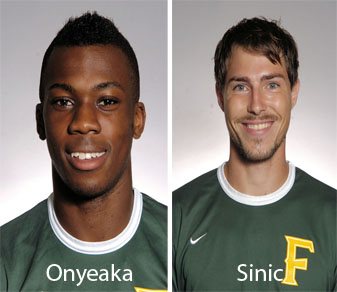 Onyeaka, Sinic Named All-CACC Tournament