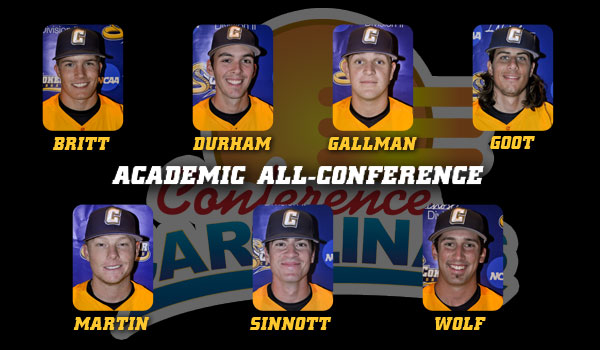 Seven Baseball Players Named Academic All-Conference