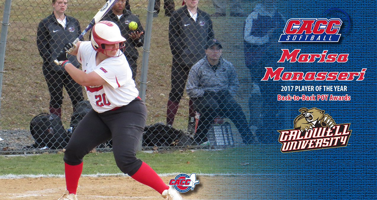 Caldwell's Monasseri Earns 2nd Straight CACC Softball Player-of-the-Year Award; All-CACC Tms Announced