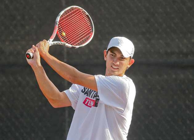 ON THE MOVE: No. 47 Men's Tennis Team Travels to Arkansas