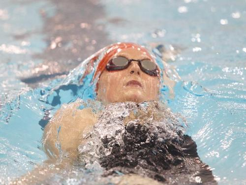 CUA Swimming Sweeps St. Mary's