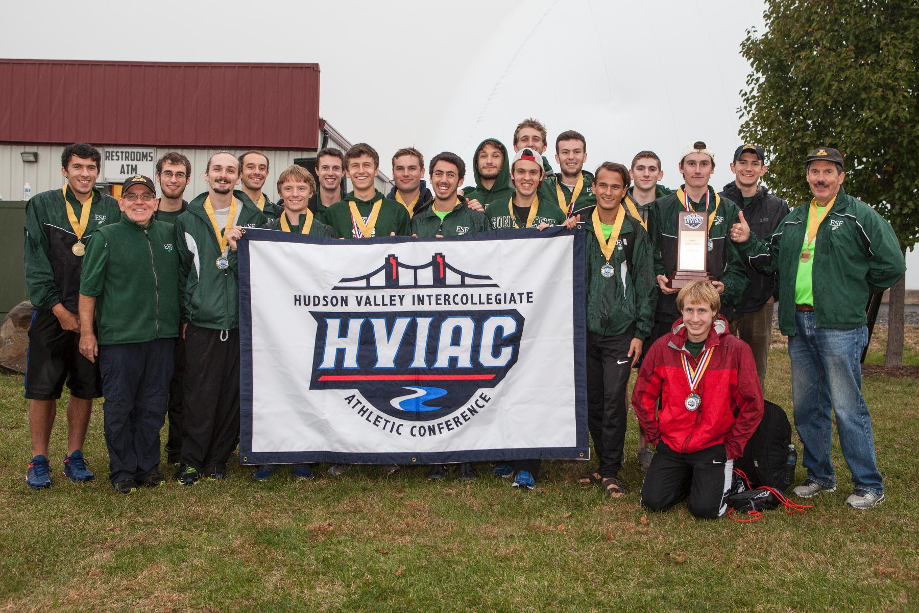 SUNY ESF Repeats as Men's Cross Country Champions