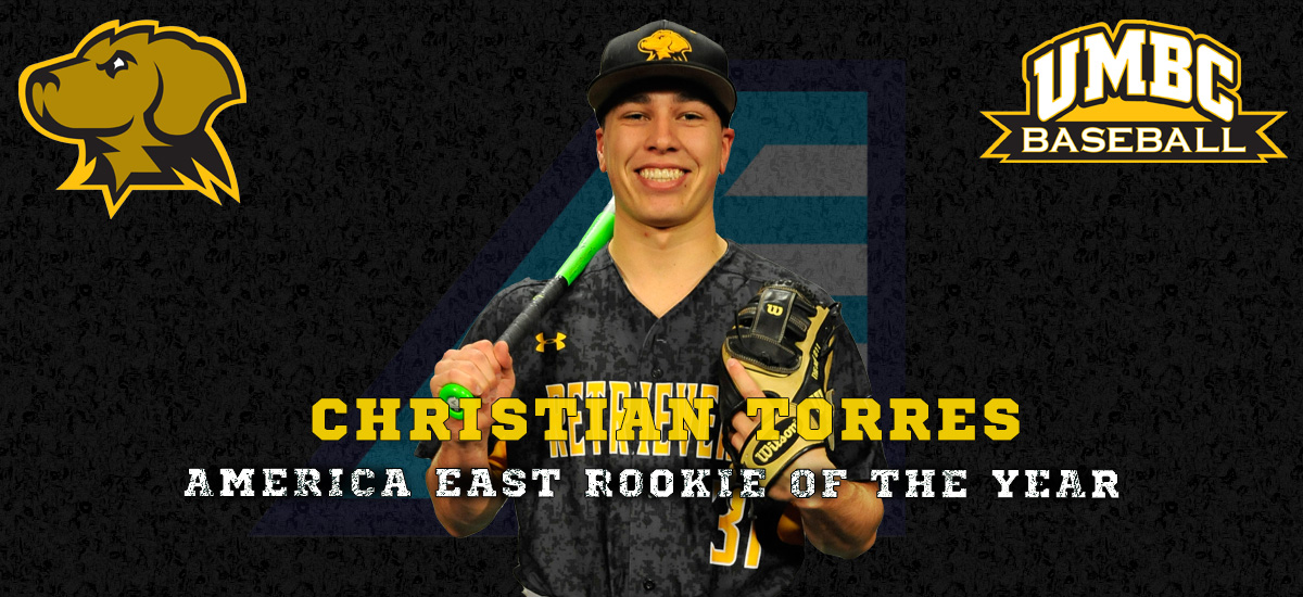 Torres Named America East Rookie of the Year; Five Retrievers Earn Postseason Honors
